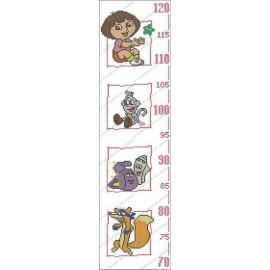 Height Chart Dora The Explorer
