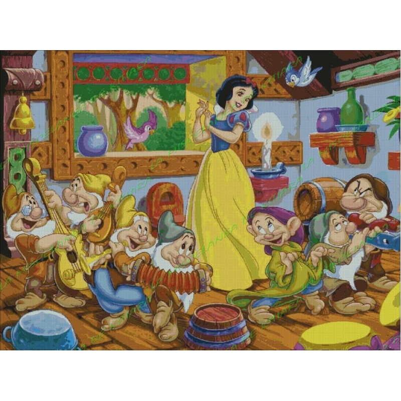 Blancanieves y los 7 enanitos musicos - Casa de blancanieves y los 7 enanitos simba ...