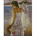 Dama en la Playa